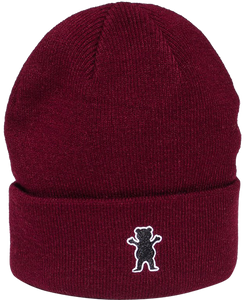 GRIZZLY GRAM BEANIE BURGUNDY