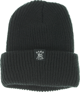HARD LUCK OG LOGO BEANIE BLACK