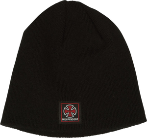 INDE CLEAN LIGHT WEIGHT BEANIE BLACK