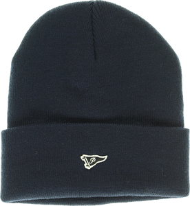 PRIMITIVE MINI PENNANT PATCH BEANIE NAVY
