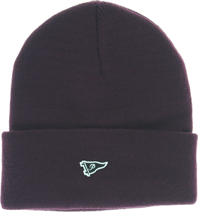 PRIMITIVE MINI PENNANT PATCH BEANIE BURGUNDY