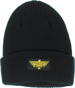PRIMITIVE THUNDERBIRD BEANIE BLACK