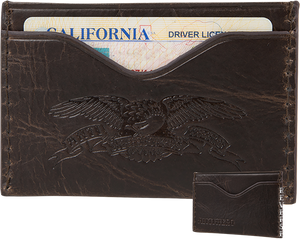 ANTI HERO EAGLE CARD HOLDER WALLET BROWN