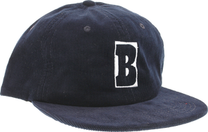 BAKER CAPITAL B HAT ADJ-NAVY