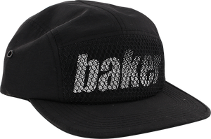 BAKER SKATEBOARDS VANTAGE CAMP HAT ADJ-BLACK