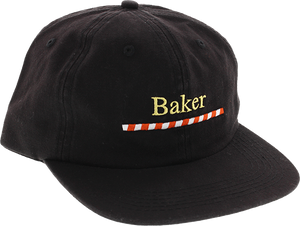 BAKER SKATEBOARDS WALKER HAT ADJ-BLACK