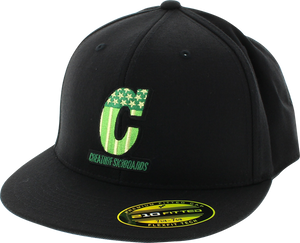CREATURE LIVE TO RIDE FLEX HAT S/M BLACK