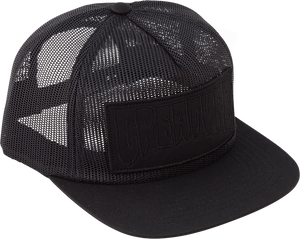 CREATURE REVERSE PATCH MESH HAT ADJ-BLACK
