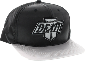 DW DEATH KINGS HAT ADJ-BLK/GREY