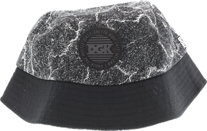 DGK BLACKTOP BUCKET HAT ADJ-BLACK