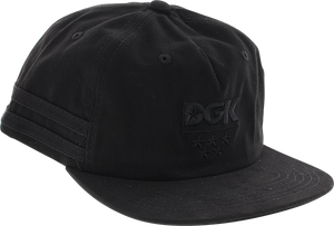 DGK SUNSET HAT ADJ-BLACK