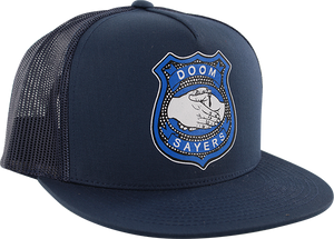 DOOM SAYERS CORP GUY MESH HAT ADJ-NAVY