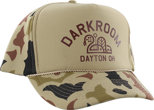 DARKROOM HUNTER HAT ADJ-WALNUT BEIGE CAMO