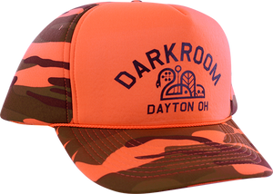 DARKROOM HUNTER HAT ADJ-ORANGE CAMO