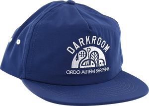DARKROOM SERPENS 5PANEL HAT ADJ-NAVY