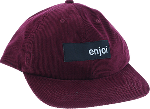 ENJOI SMUCKER HAT ADJ-BURGUNDY