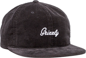 GRIZZLY HERITAGE HAT ADJ-BLK/WHT