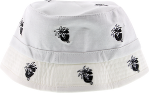 GRIZZLY PALM G BUCKET HAT OFA-WHITE