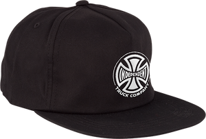 INDEPENDENT TRUCK CO. EMBROIDERY STRAPBACK ADJ-BLACK