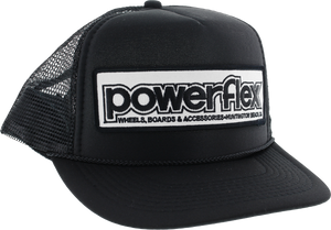 POWERFLEX OG EMBLEM MESH HAT BLACK