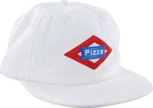 PIZZA SOL HAT ADJ-WHITE