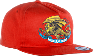 PWL/P OVAL DRAGON HAT ADJ-RED