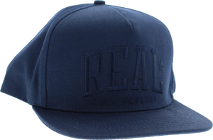 REAL SKATEBOARDS UNDERCLASS ADJ HAT-NAVY