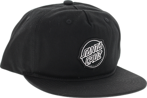 SANTA CRUZ APTOS HAT ADJ-BLACK
