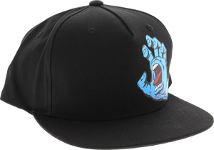 SC SCREAMING HAND HAT YOUTH ADJ-BLK/BLK
