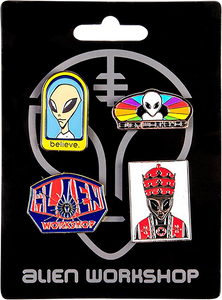 ALIEN WORKSHOP 4/PACK PINS