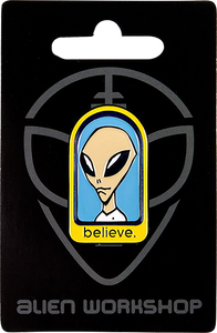 ALIEN WORKSHOP BELIEVE PIN