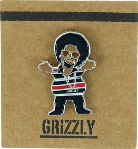 GRIZZLY GRIPTAPE HYPHY BEAR PIN