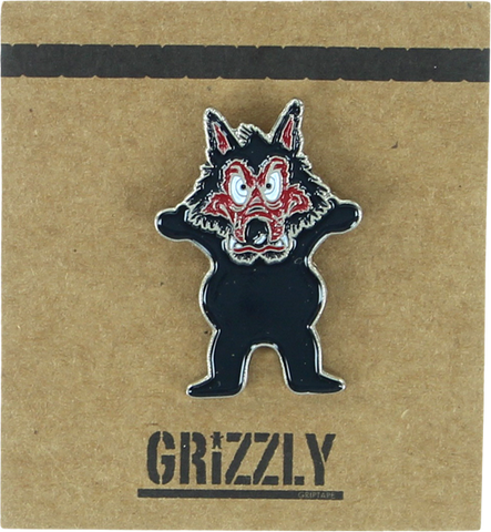 GRIZZLY GRIPTAPE WOLFPACK PIN