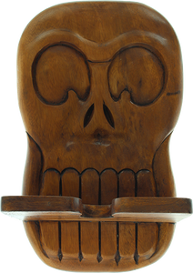 BEATNIK LARGE SKATE RACK SKULL