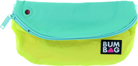 BUMBAG POUCH BASELINE NEON TEAL/YEL