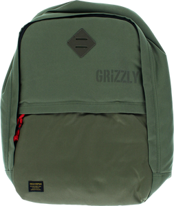 GRIZZLY GRIPTAPE DAY TRAIL BACKPACK MILITARY GREEN/TAN