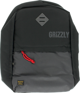GRIZZLY GRIPTAPE DAY TRAIL BACKPACK BLK/CHARCOAL