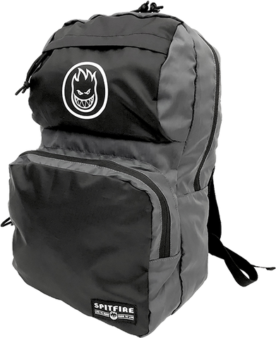 SPITFIRE BIGHEAD CIRCLE PACKABLE BACKPACK BLK/GREY