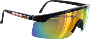 BRONSON SPEED CO. SPEED SHADES SUNGLASSES BLK/ORG