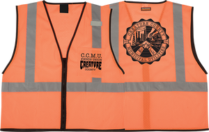 CREATURE CCMU WORK VEST L/XL-ORANGE