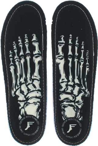 FOOTPRINT KINGFOAM SKELETON BLK 7-7.5 INSOLE