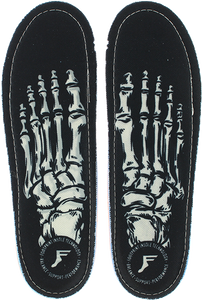 FOOTPRINT KINGFOAM ORTHOTIC SKELETON BLK 13-13.5
