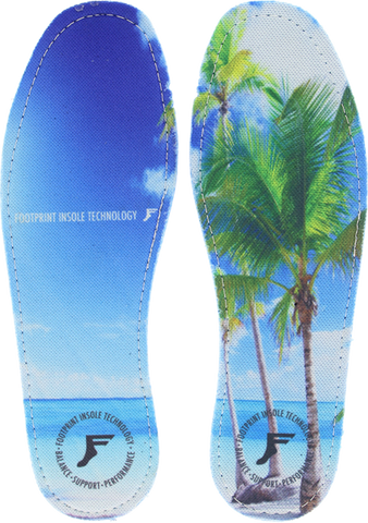 FOOTPRINT HI PROFILE KINGFOAM BEACH 6-6.5 INSOLE