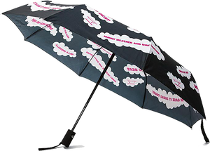 GIRL CRAILTAP CLOUDS UMBRELLA