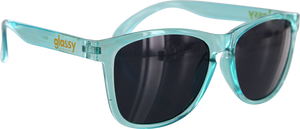 GLASSY DERIC TIFFANY BLUE SUNGLASSES