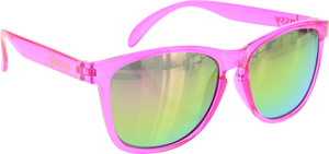 GLASSY DERIC CANCER HATER PINK SUNGLASSES