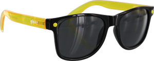GLASSY LEONARD CANCER HATER BLK/CL.YEL SUNGLASSES