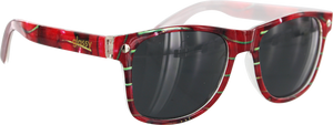 GLASSY LEONARD CHERRY SUNGLASSES
