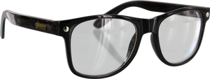 GLASSY LEONARD BLK/CLEAR SUNGLASSES