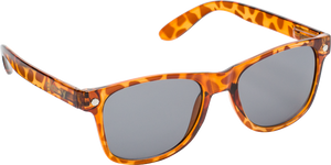 GLASSY SUNHATERS LEONARD TORTOISE BRN/BRN SUNGLASSES